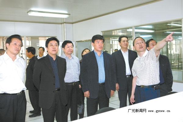 广元政府网-罗强马华考察杭州企业