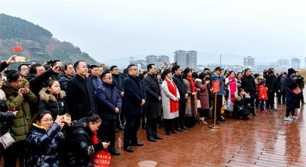 廣元市棲鳳湖水上旅游項目正式啟動