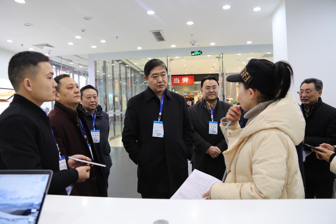 广元市长邹自景督查第四次全国经济普查登记工作