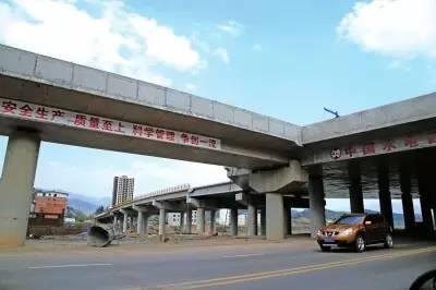 广陕广巴高速大石互通连接线