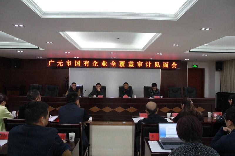 广元市召开国有企业全覆盖审计见面会